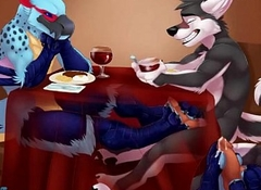 Gay Spread out Giving Enchanter Footjob Under Table - YIFF Jasonafex - XVIDEOS com