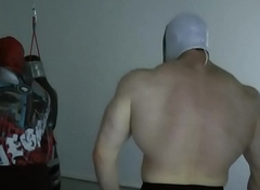 TylerMUSCLEGOD VS Steel Ivan - Wrestling Domination
