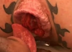 Beautiful assfuck in fuckfest systematize anus spattering